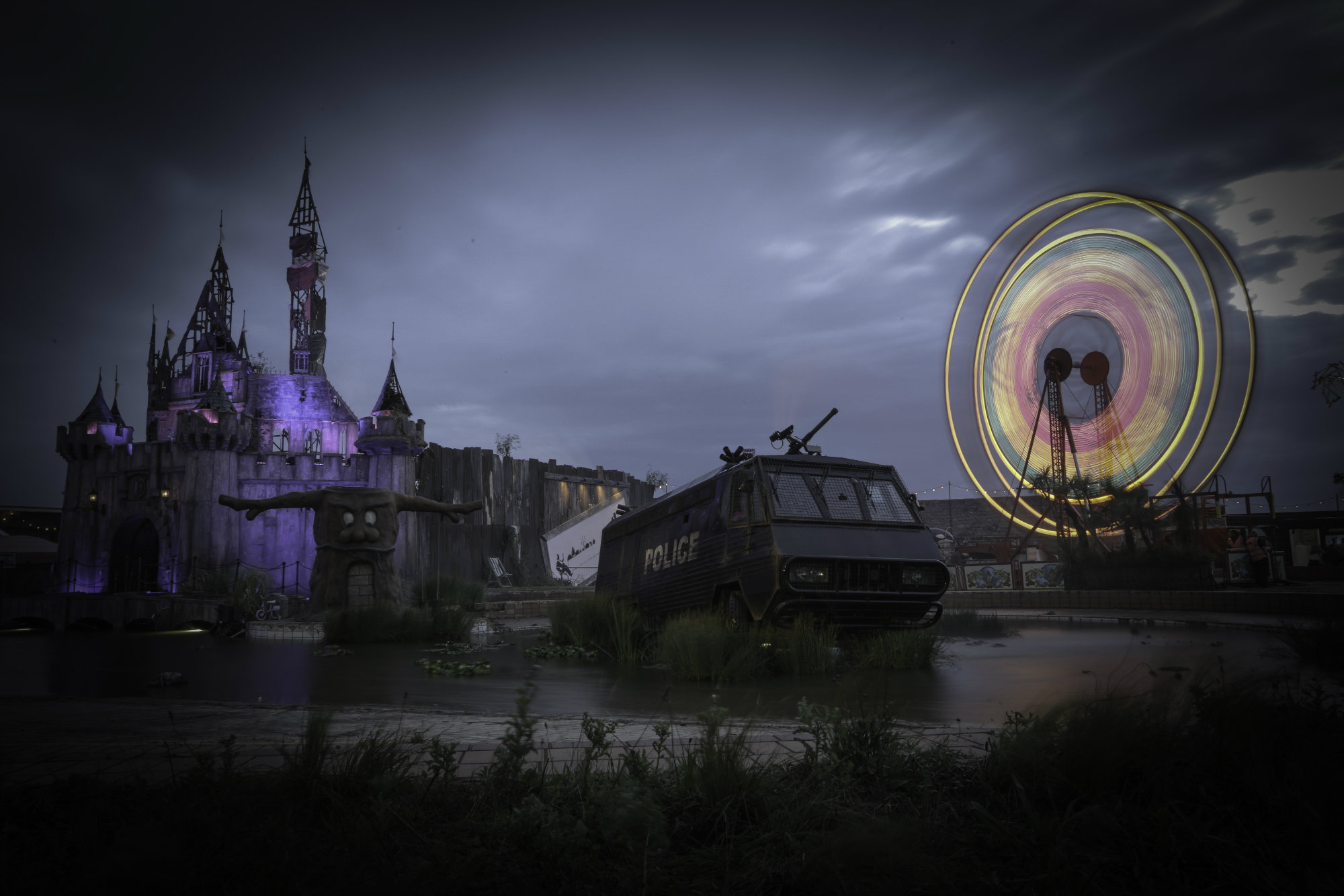 Hosting Banksy's Dismaland put Weston-super-Mare on the map