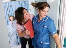 护士与食指患者