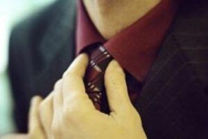 面试的领带