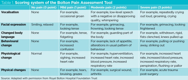 Assessing Pain In Patients With Cognitive Impairment In Acute Care Nursing Times