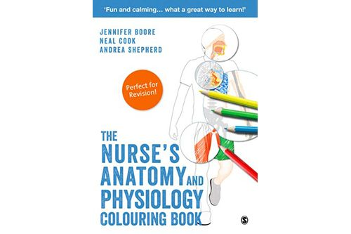 The Nurse's Anatomy And Physiology Colouring Book Nursing Times