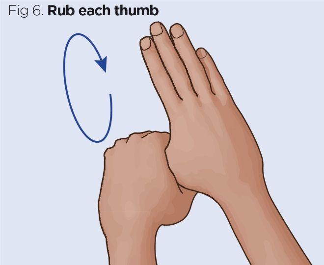 fig 6 rub each thumb
