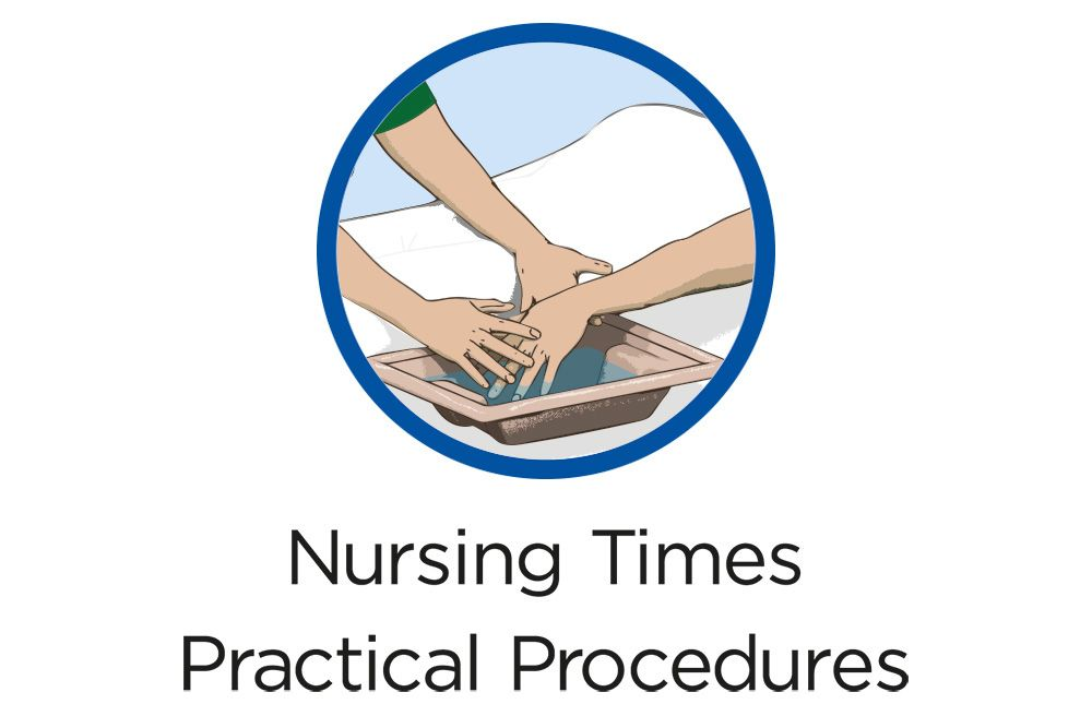 The Underlying Principles And Procedure For Bed Bathing Patients Nursing Times