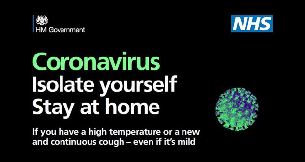 TV ads to be used from today to boost public advice on coronavirus ...